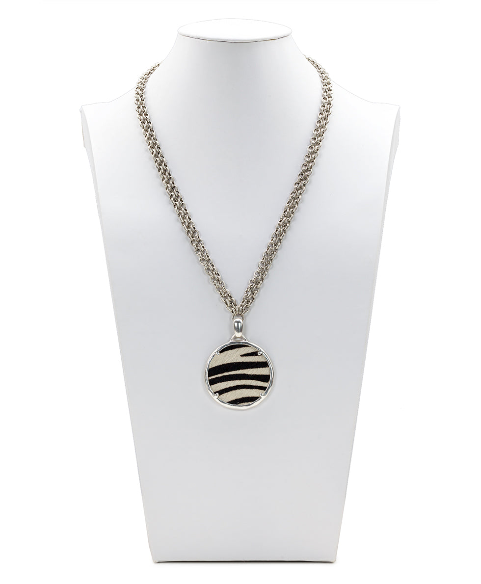 Nicolina Necklace - Zebra