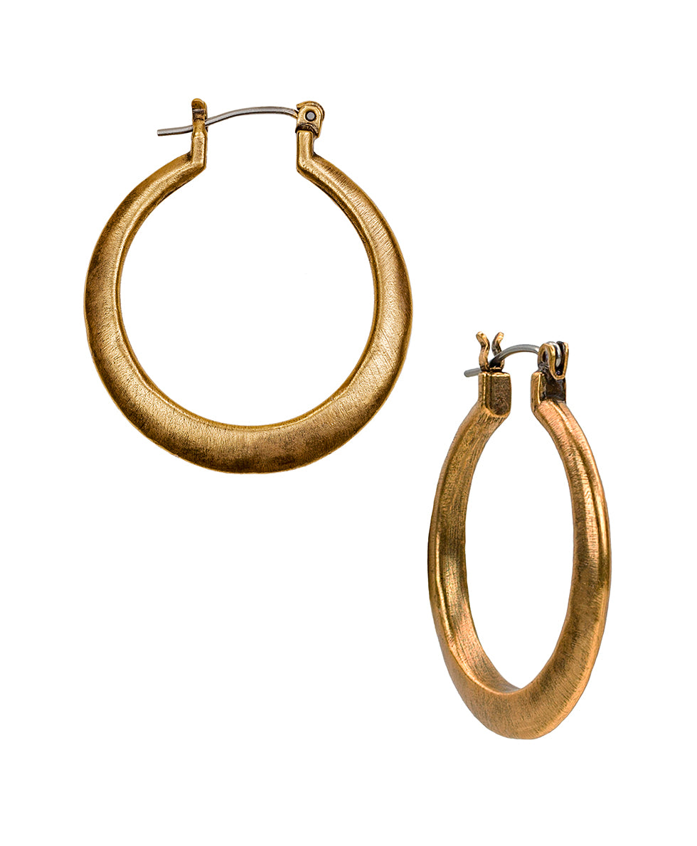 Floret Charm Basic Hoops - Russian Gold