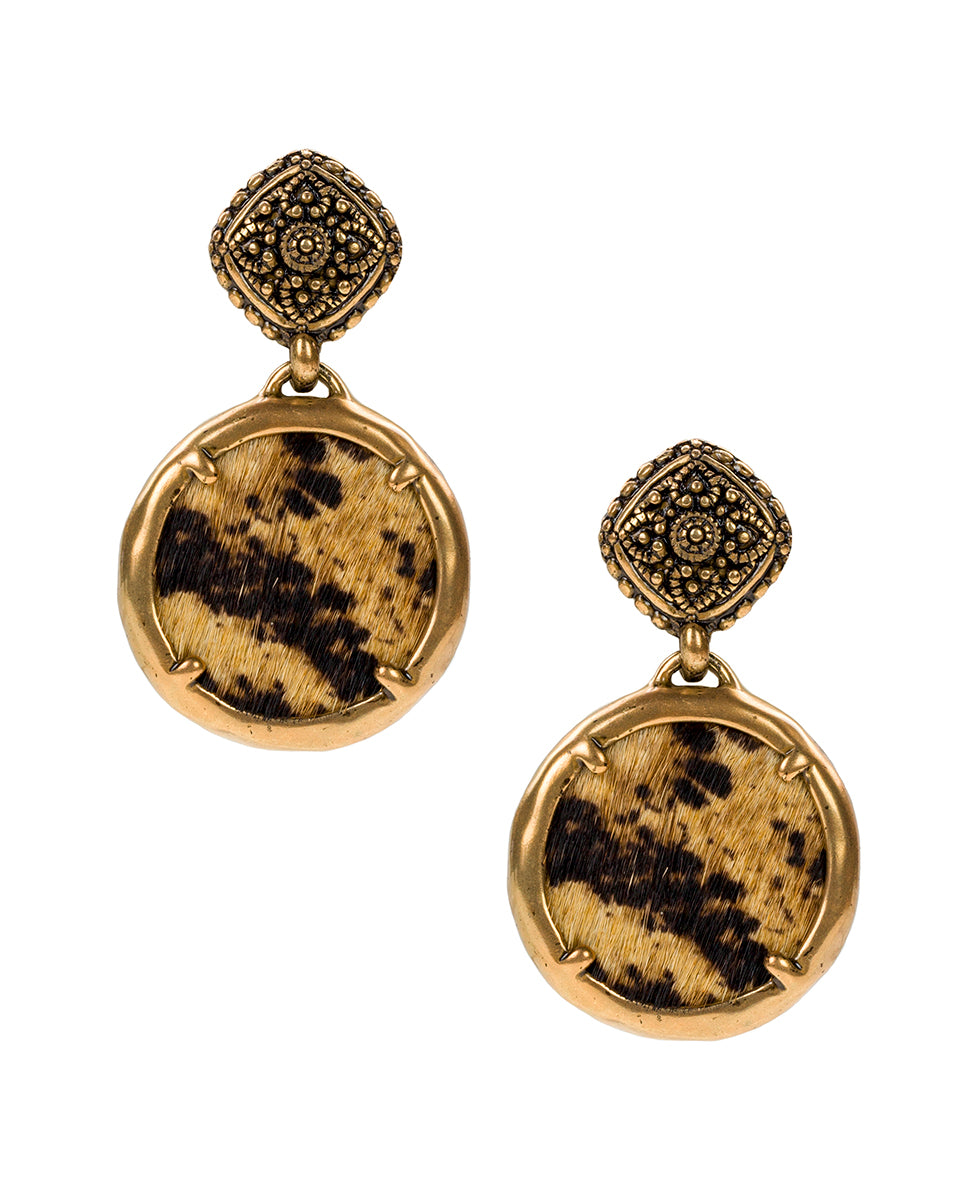Carina Filigree Earrings - Python