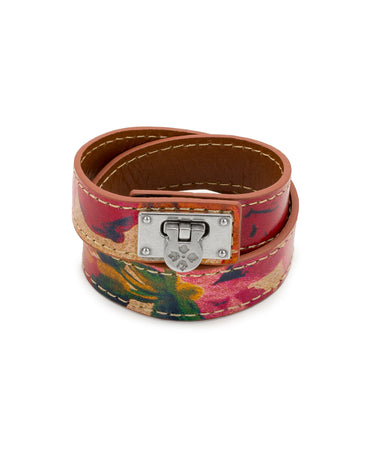 Rose Spring Multi Leather Cuff