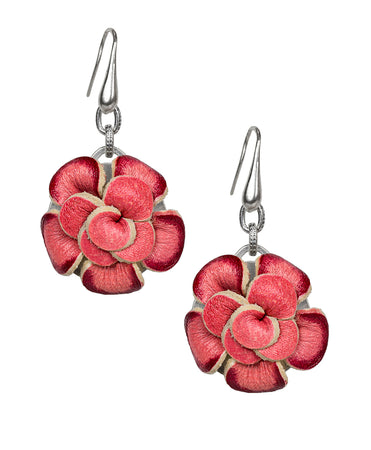 Annette Flower Earrings - Bouquet Collection Silver Ox - Annette Flower Earrings - Bouquet Collection Silver Ox