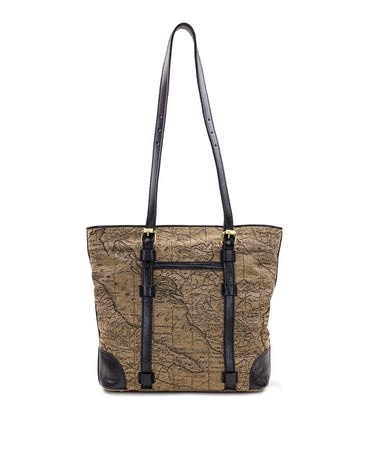 Montry Tote - Jacquard - Tan/Black