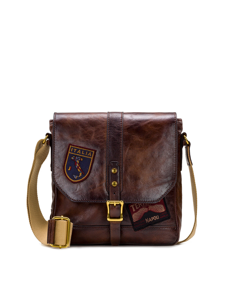 North/South Crossbody - All Leather Travelers