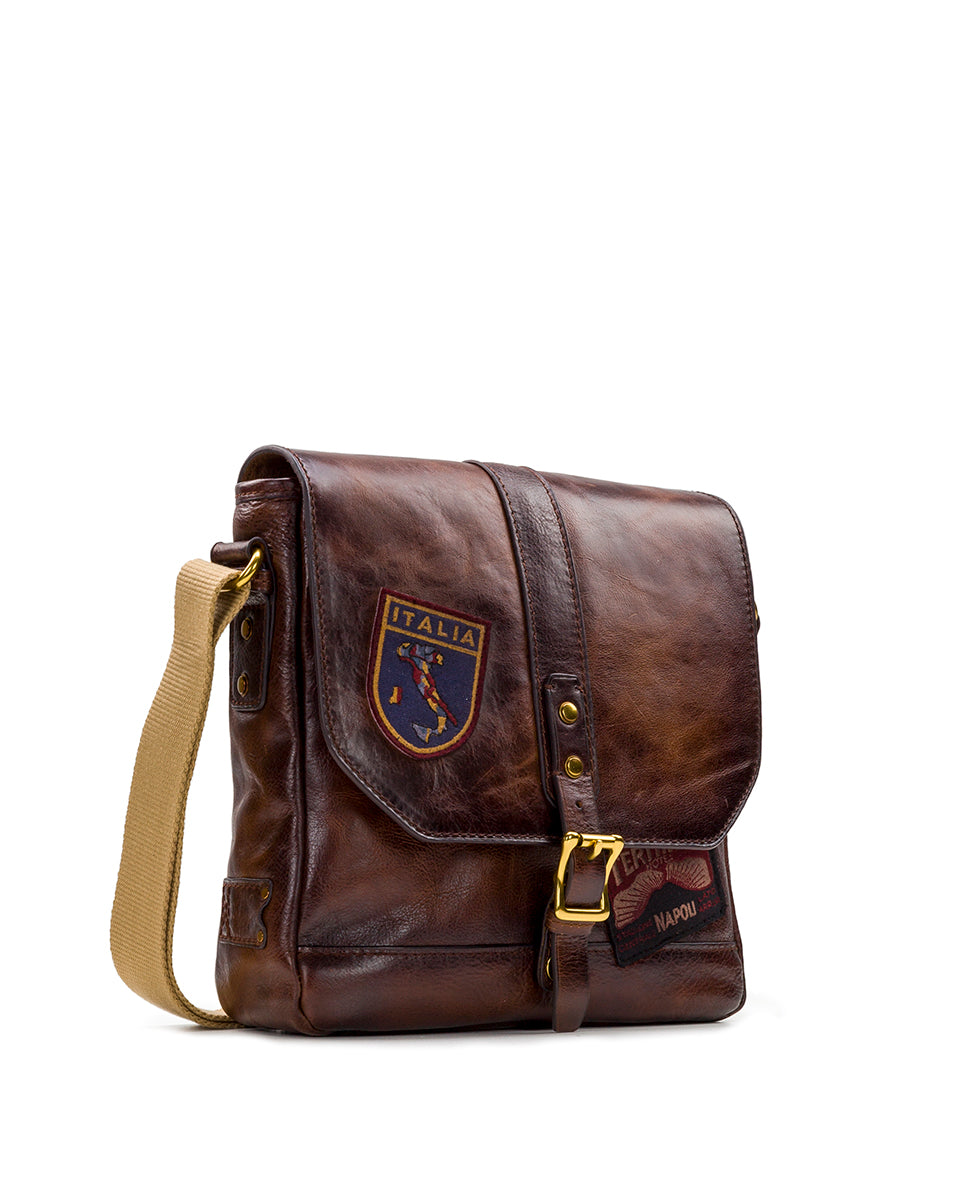 North/South Crossbody - All Leather Travelers 3