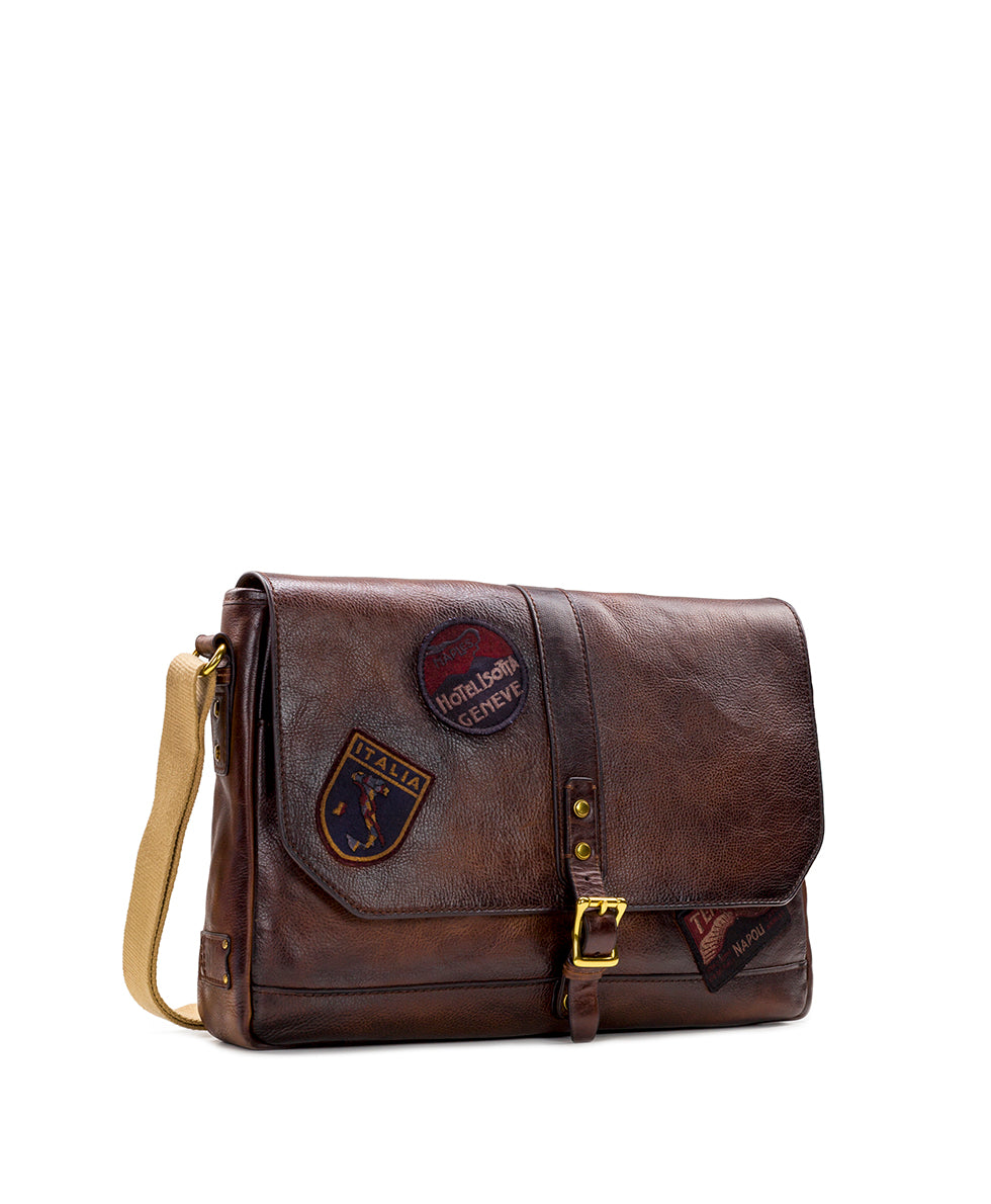 Messenger - All Leather Travelers 3