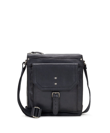 Tuscan North/South Crossbody II - Black