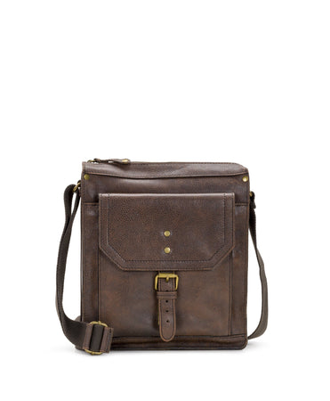 Tuscan North/South Crossbody II - Chocolate