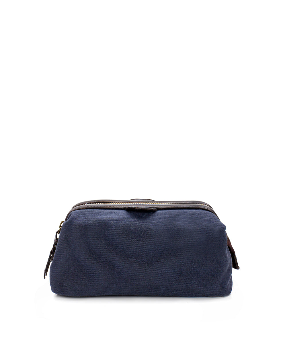 Travel Case - Roma Canvas Navy