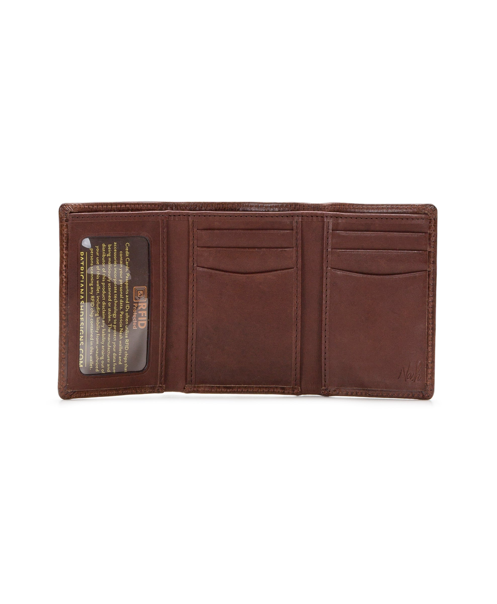 Trifold Wallet - Vintage Leather 2
