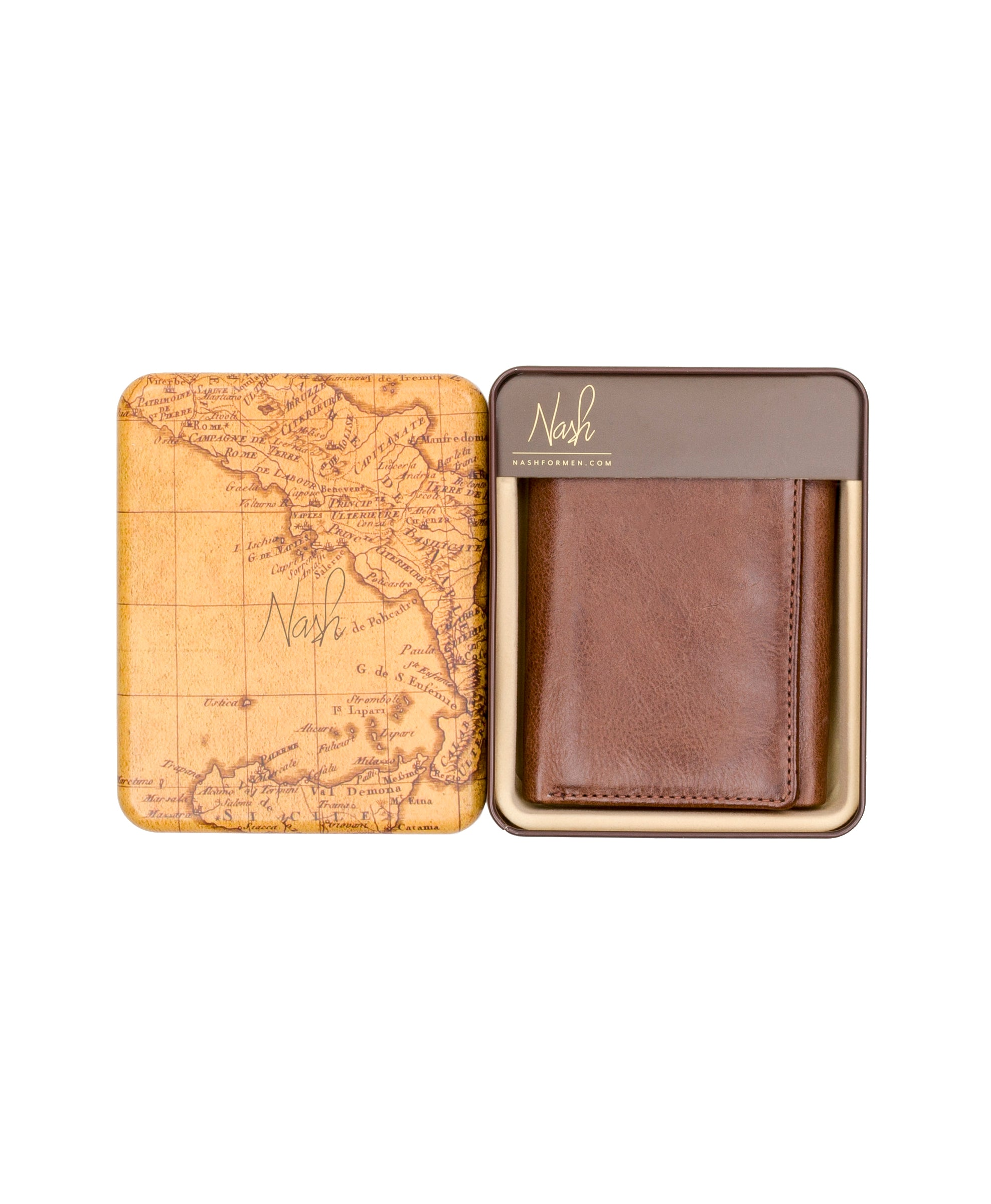 Trifold Wallet - Vintage Leather 4