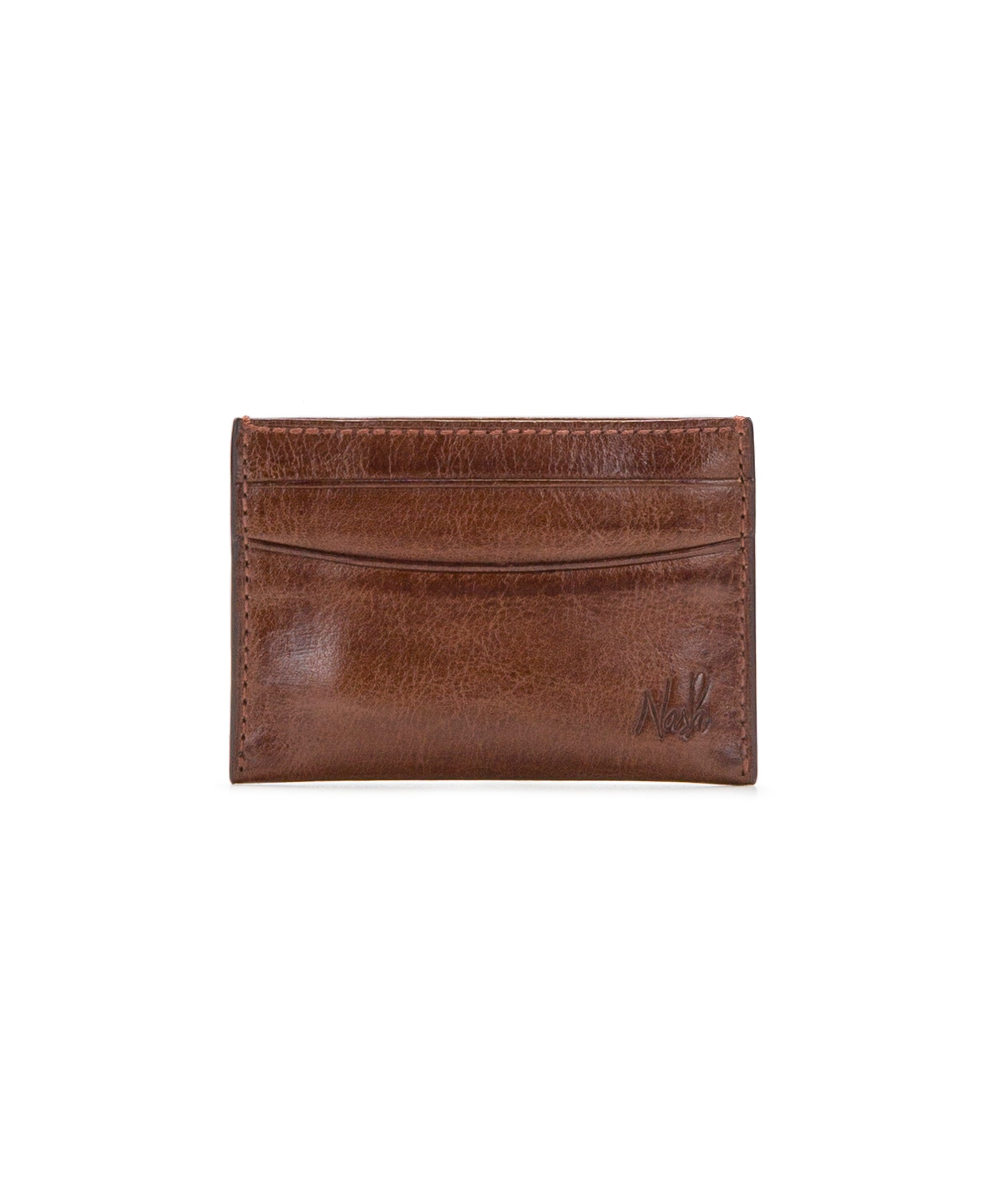 Slim Card Case - Vintage Leather