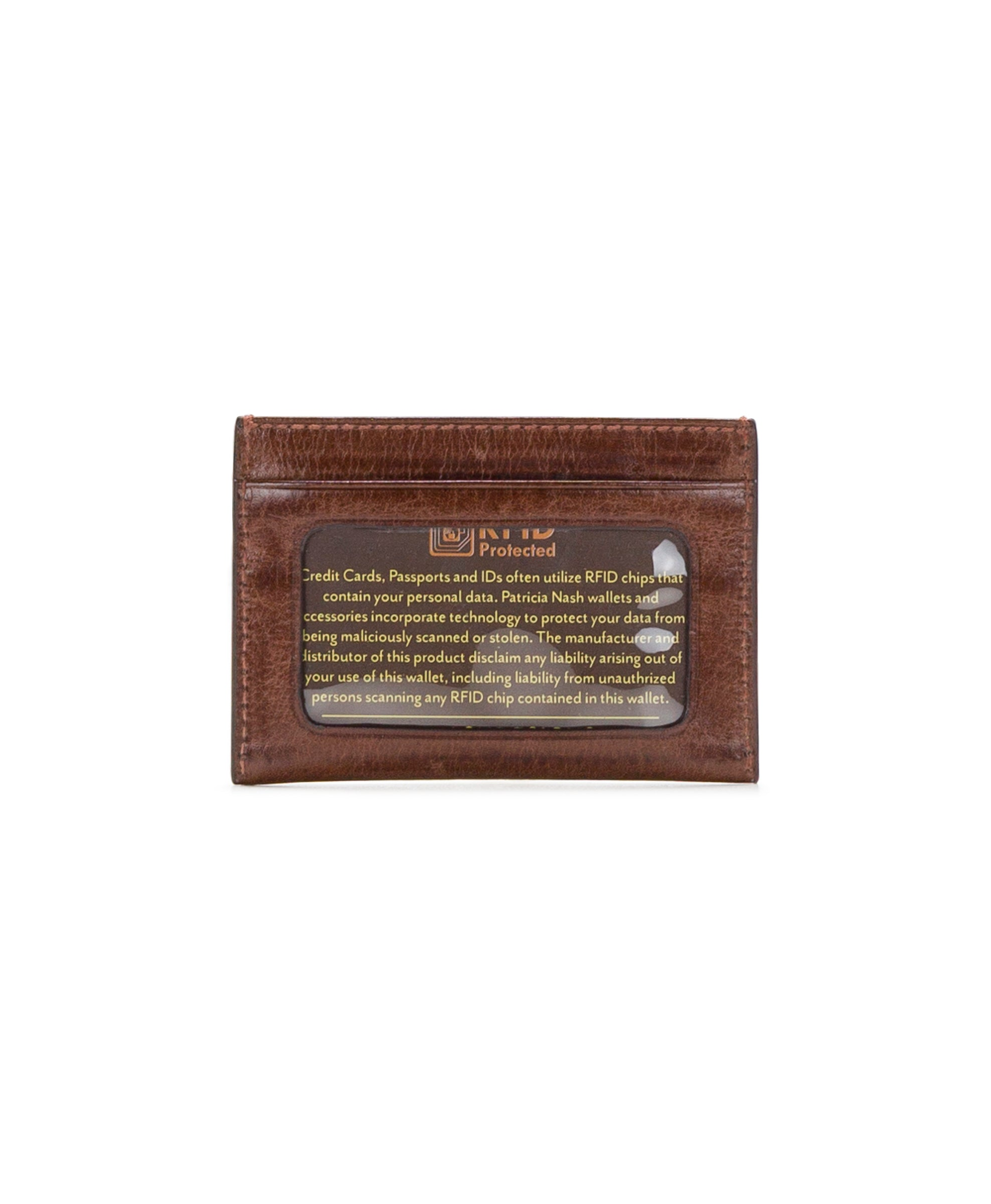 Slim Card Case - Vintage Leather 2