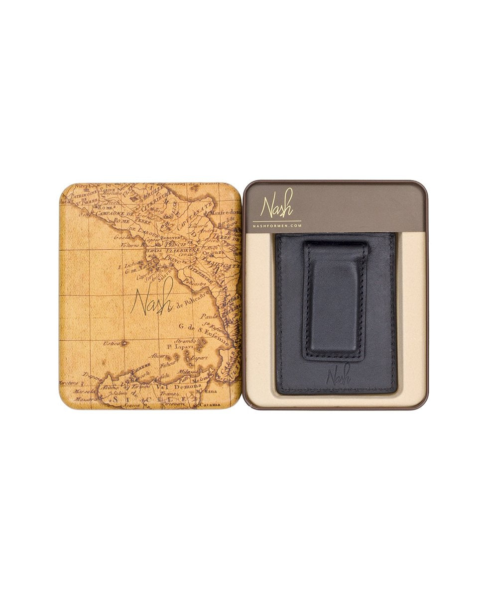 Mag Money Clip Credit Card - Lucca Black 4
