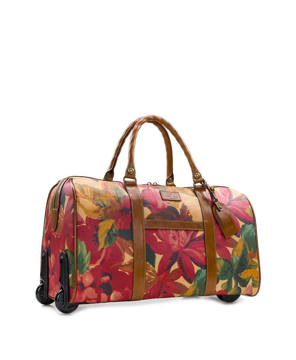 Avola Trolley Duffel - Patina Coated Canvas Spring Multi 3