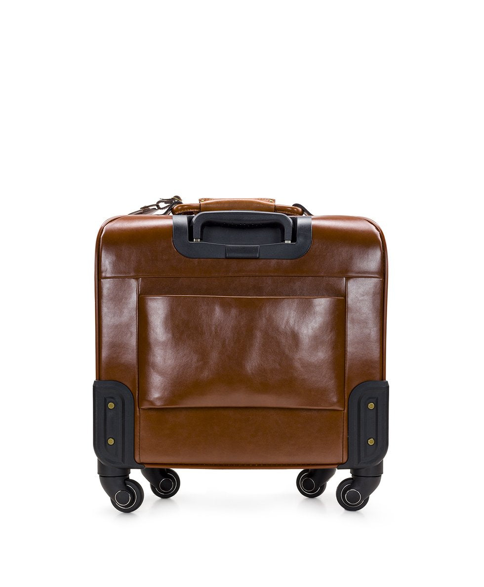 Velino Trolley - Patina Coated Canvas Signature Map - Velino Trolley - Patina Coated Canvas Signature Map
