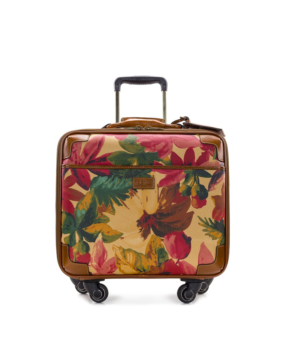 Velino Trolley - Patina Coated Canvas Spring Multi