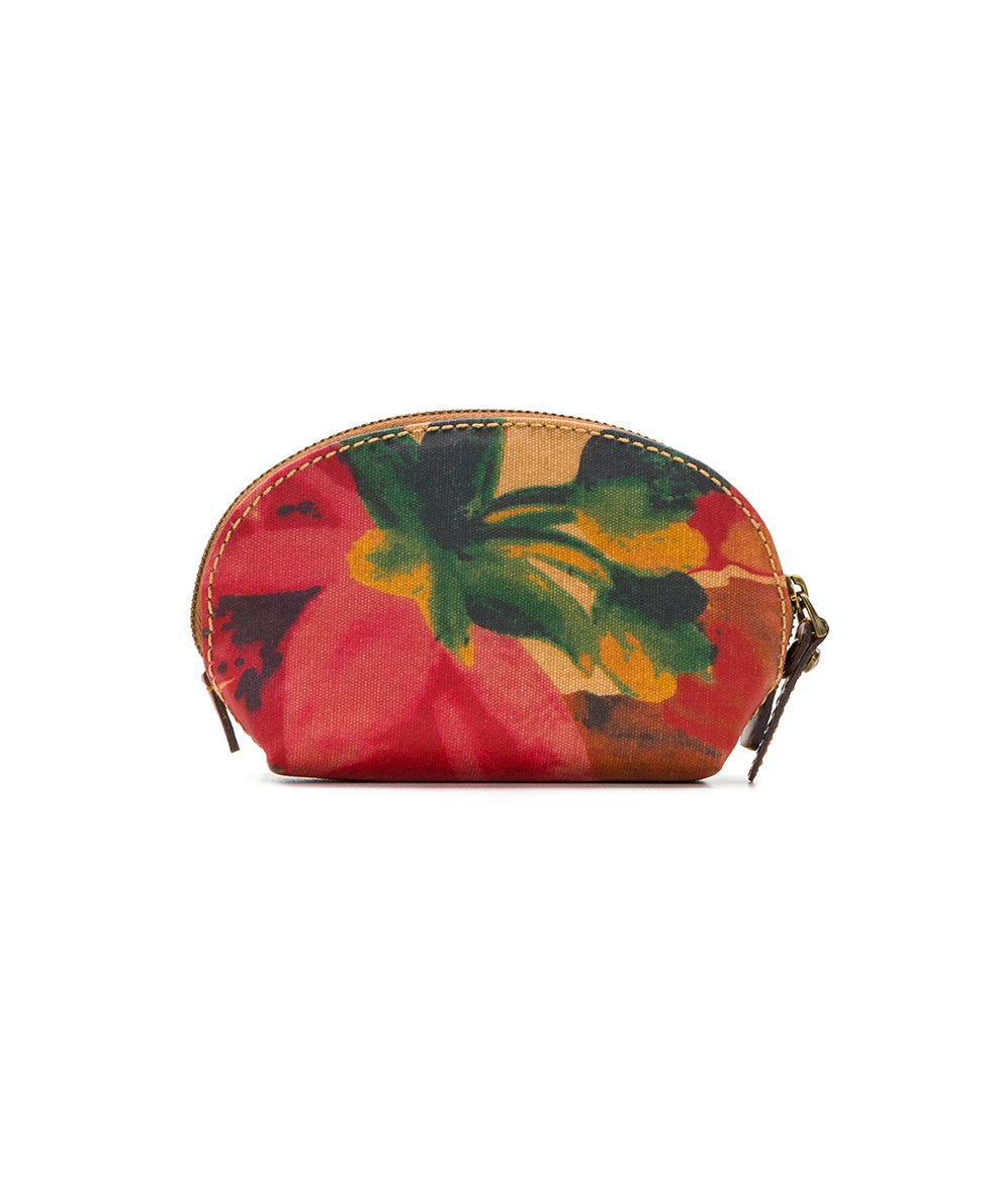 Rosalie Lipstick Case - Patina Coated Canvas Spring Multi 2