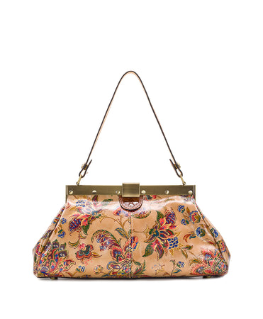Ferrara Frame Satchel - French Tapestry - Ferrara Frame Satchel - French Tapestry