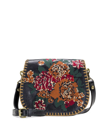 Salerno Saddle Bag - Fall Tapestry Cross Stitch - Salerno Saddle Bag - Fall Tapestry Cross Stitch