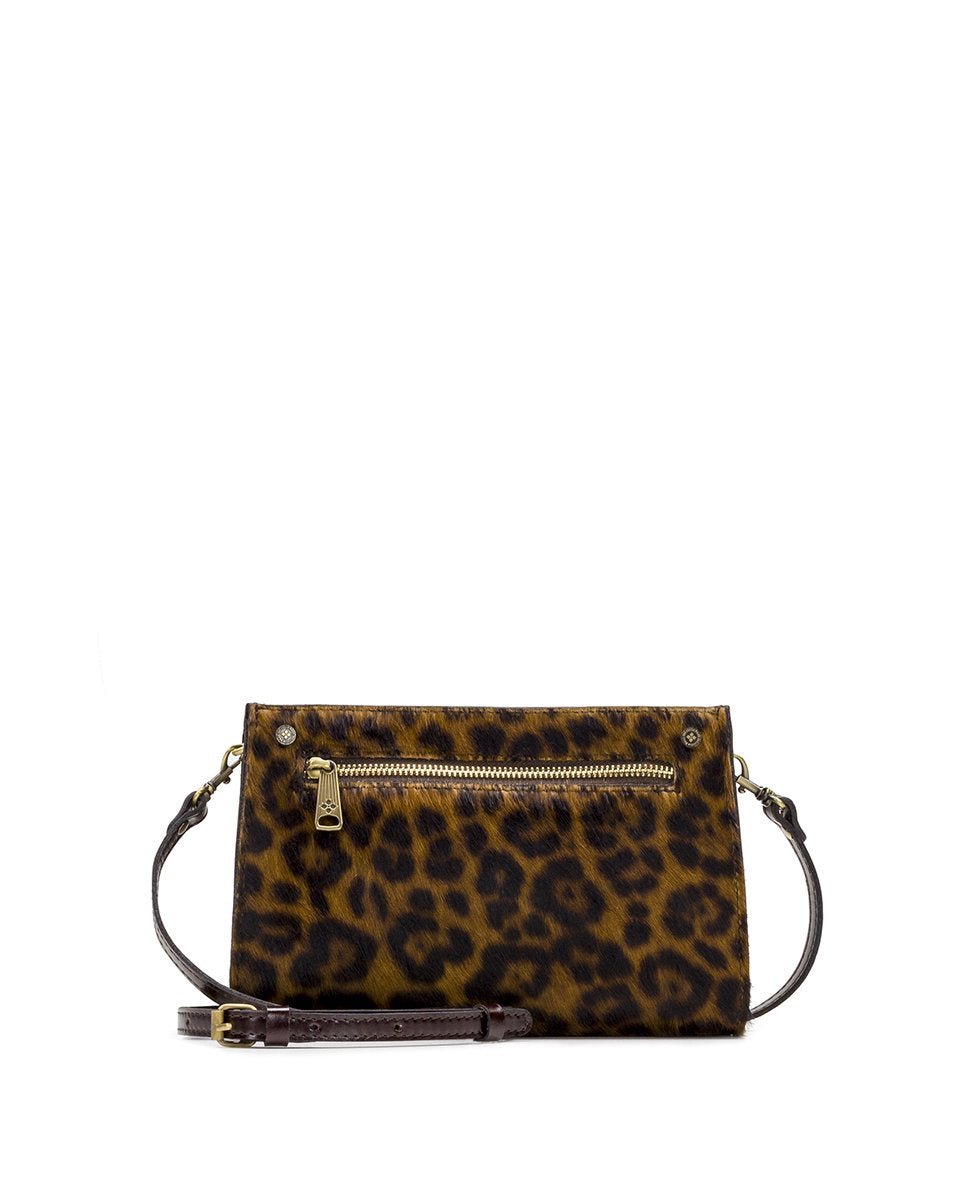 Turati Small Top Zip - Leopard Haircalf