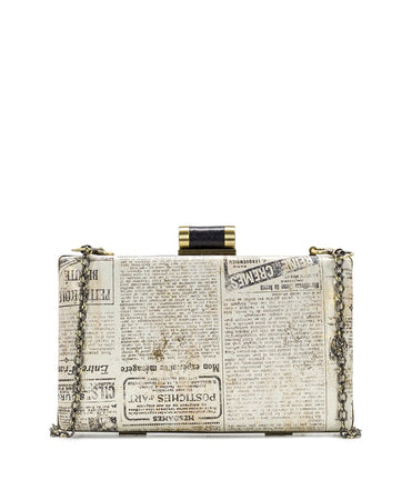 Alora Clutch - Newspaper - Alora Clutch - Newspaper