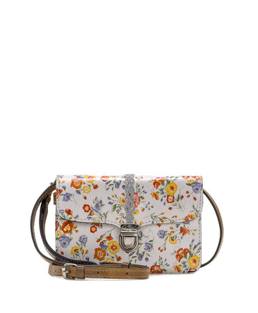 Bianco Crossbody Organizer - Mini Meadows