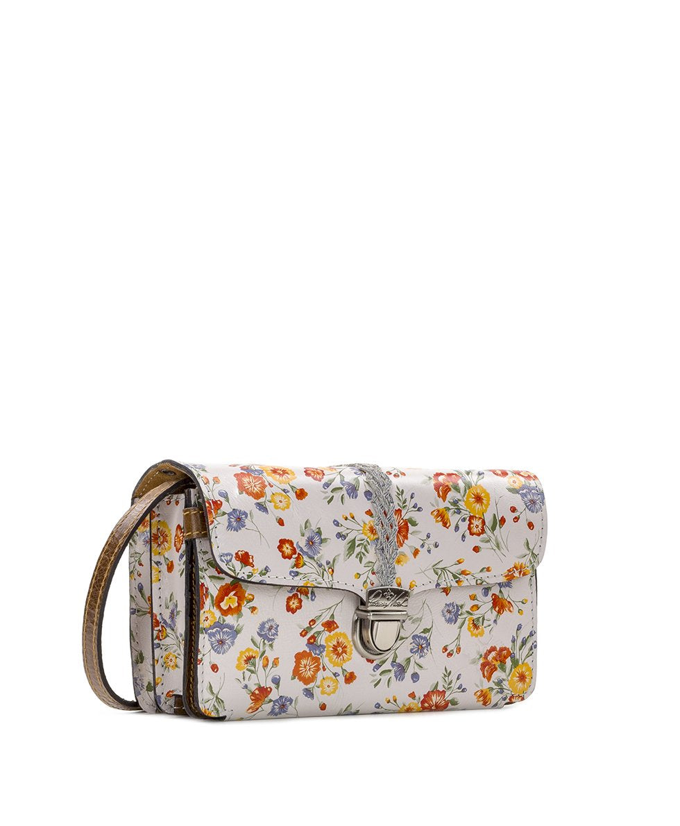 Bianco Crossbody Organizer - Mini Meadows 3