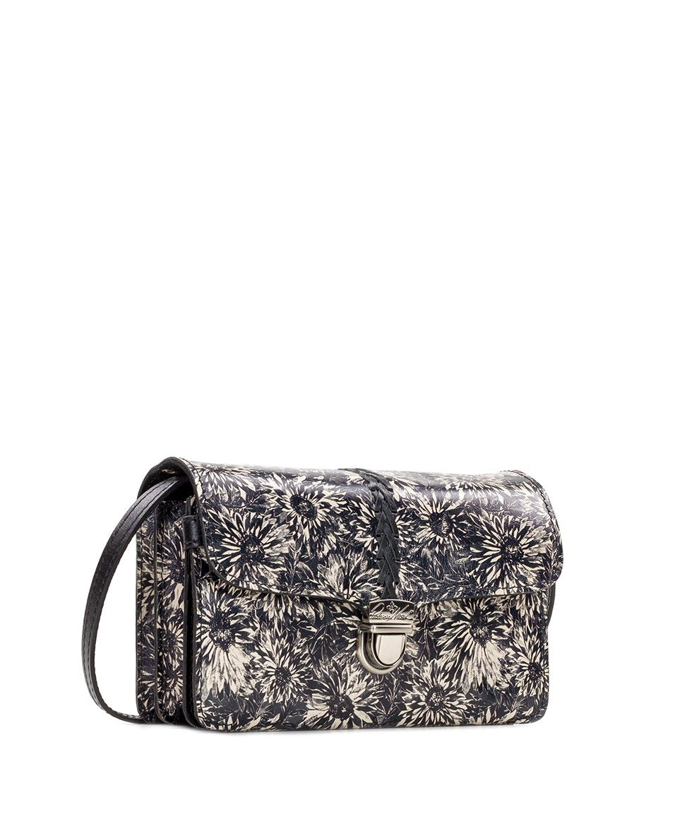 Bianco Crossbody Organizer - Sunflower Print 3