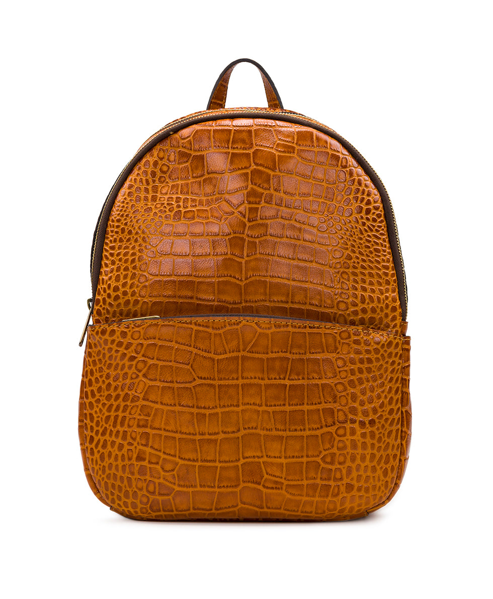 Turi Backpack - Distressed Vintage Croc