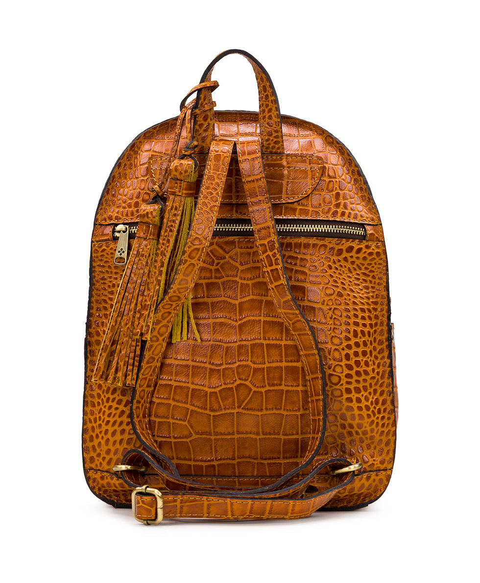 Turi Backpack - Distressed Vintage Croc 3