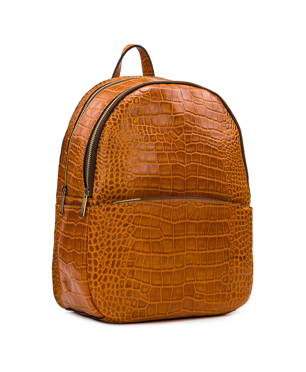 Turi Backpack - Distressed Vintage Croc 2