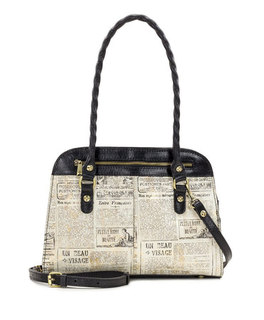 Calvi Satchel - Newspaper - Calvi Satchel - Newspaper