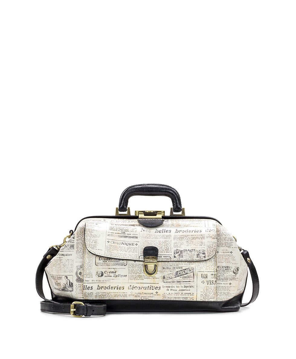 Dottore Frame Bag - Newspaper