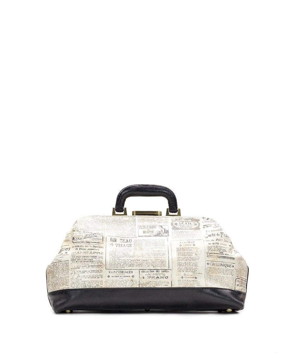 Dottore Frame Bag - Newspaper 2