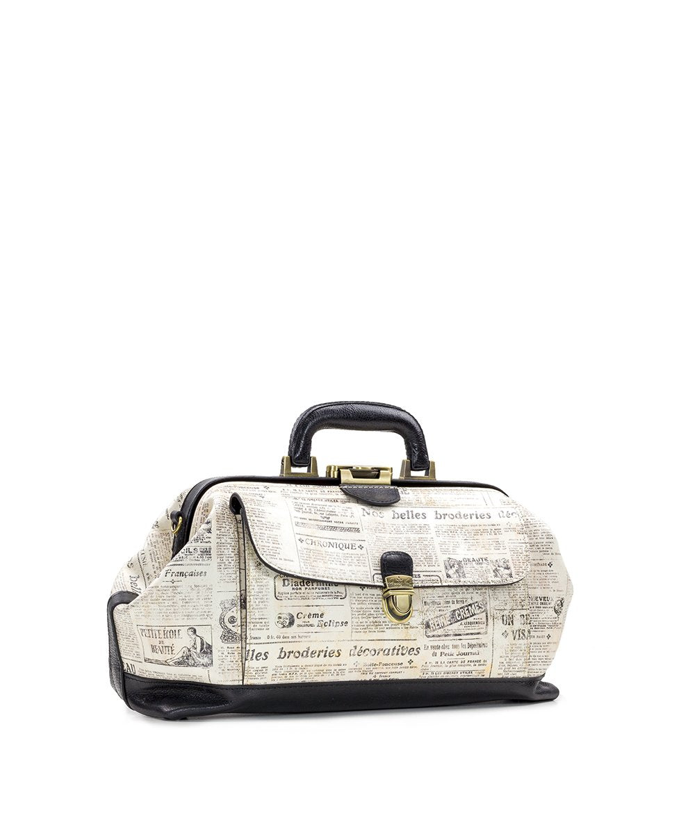 Dottore Frame Bag - Newspaper 3
