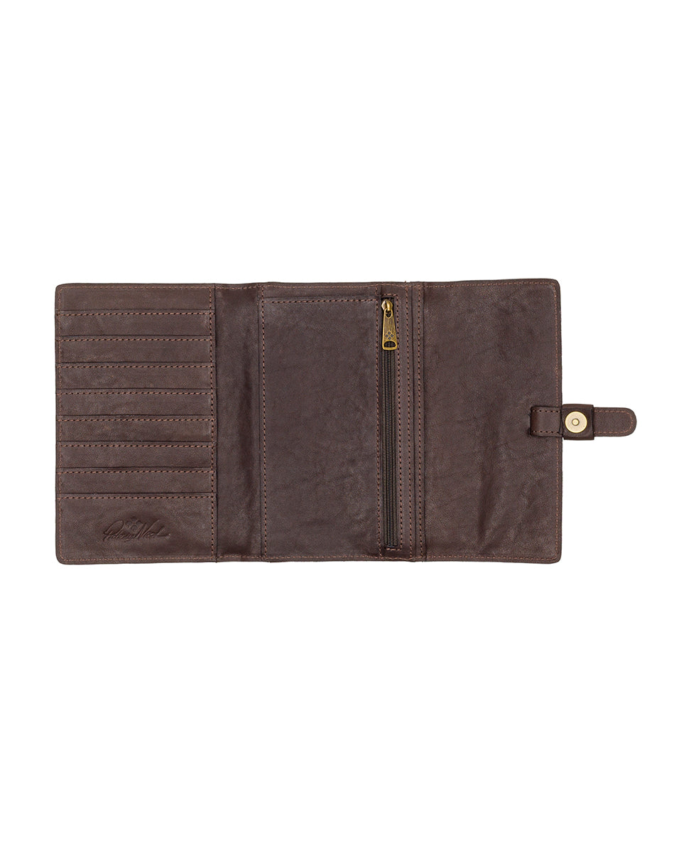 Colli Flap Wallet - Vintage Garment Washed 3