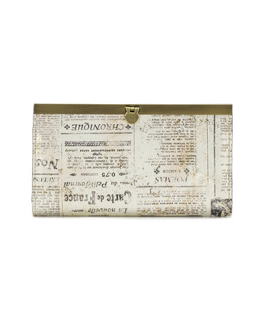 Cauchy Wallet - Newspaper - Cauchy Wallet - Newspaper