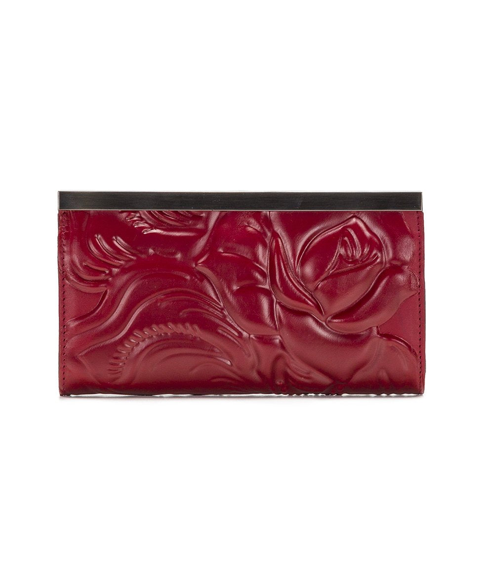 Cauchy Wallet - Waxed Tooled 2