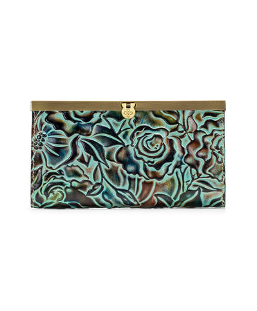 Cauchy Wallet - Antique Rose Tooling - Cauchy Wallet - Antique Rose Tooling