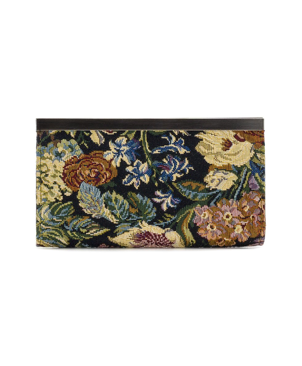 Cauchy Wallet - Woven Floral Tapestry 2