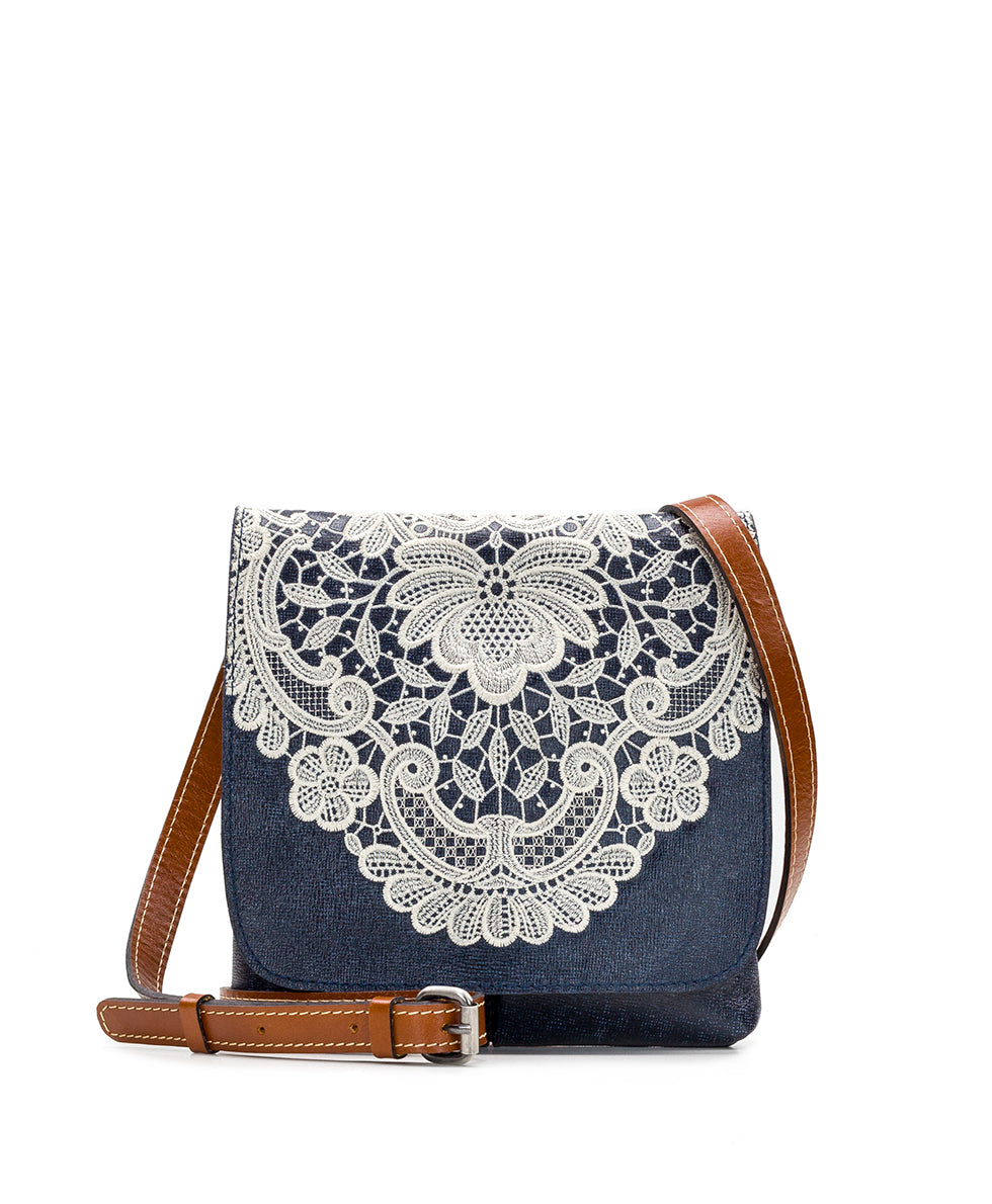 Granada Crossbody - Crochet Embroidery