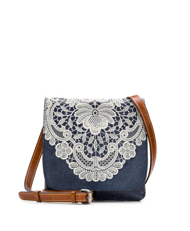 Granada Crossbody - Crochet Embroidery - Granada Crossbody - Crochet Embroidery
