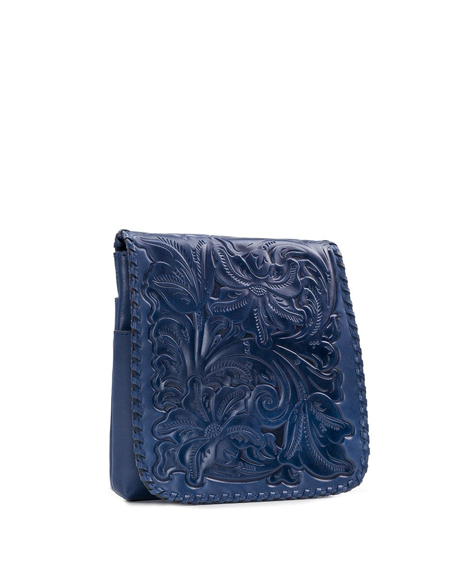 Granada Crossbody - Waxed Tooled 3