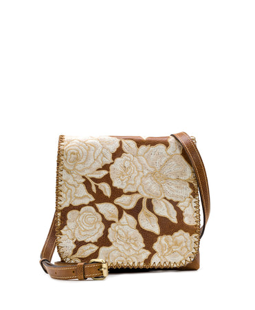 Granada Crossbody - Tonal Natural Embroidery - Granada Crossbody - Tonal Natural Embroidery