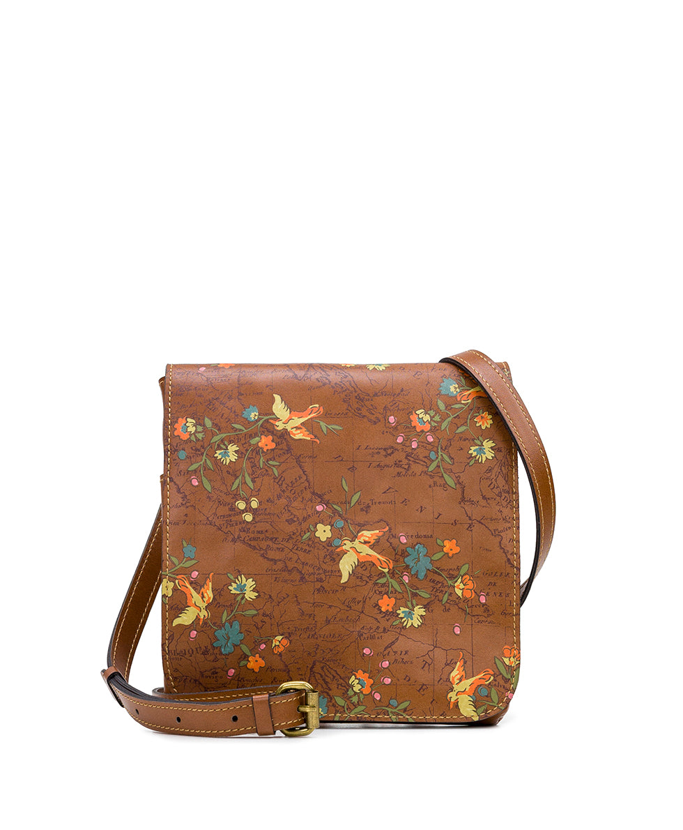Granada Crossbody - Floral Map
