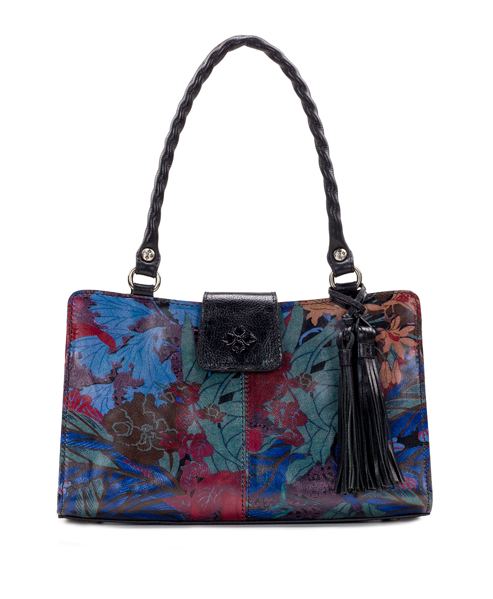Rienzo Satchel - Blue Forest