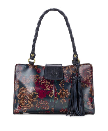Rienzo Satchel - Fall Tapestry - Rienzo Satchel - Fall Tapestry