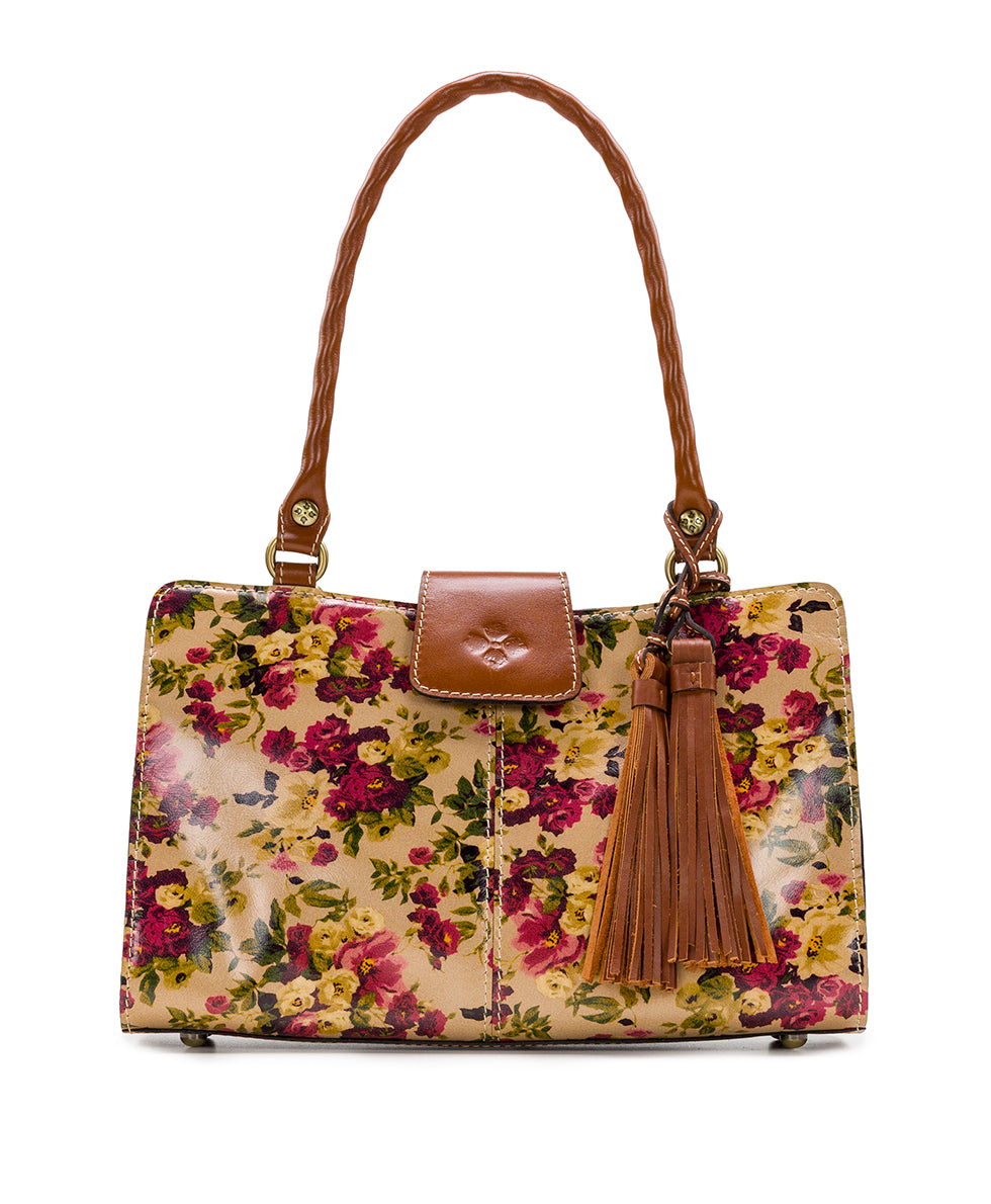Rienzo Satchel - Antique Rose