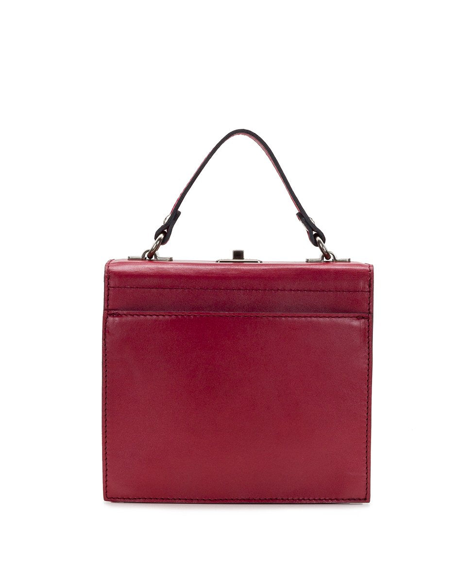 Carletti Square Crossbody - Waxed Vegetable Tanned Leather 2