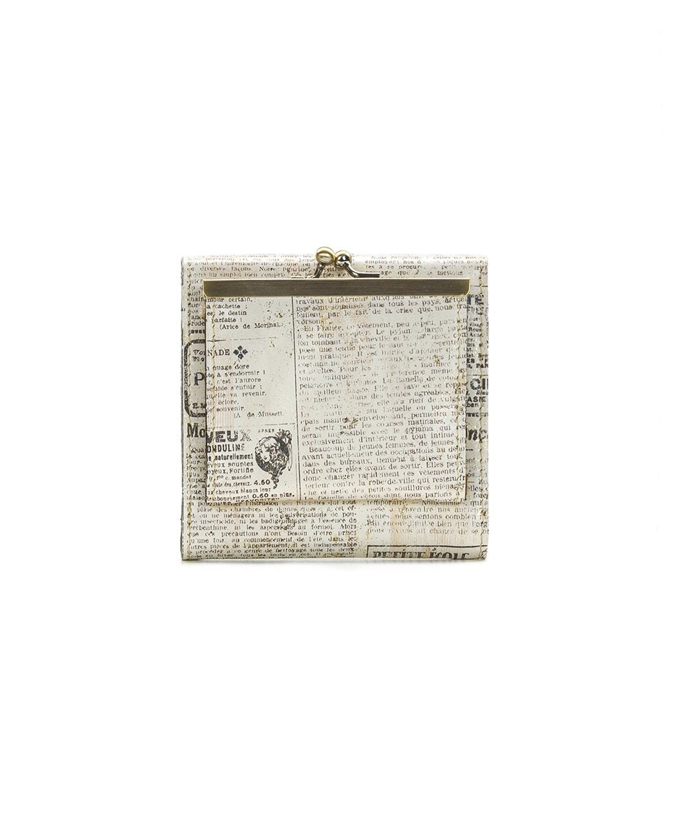 Reiti Bi-Fold Wallet - Newspaper 2